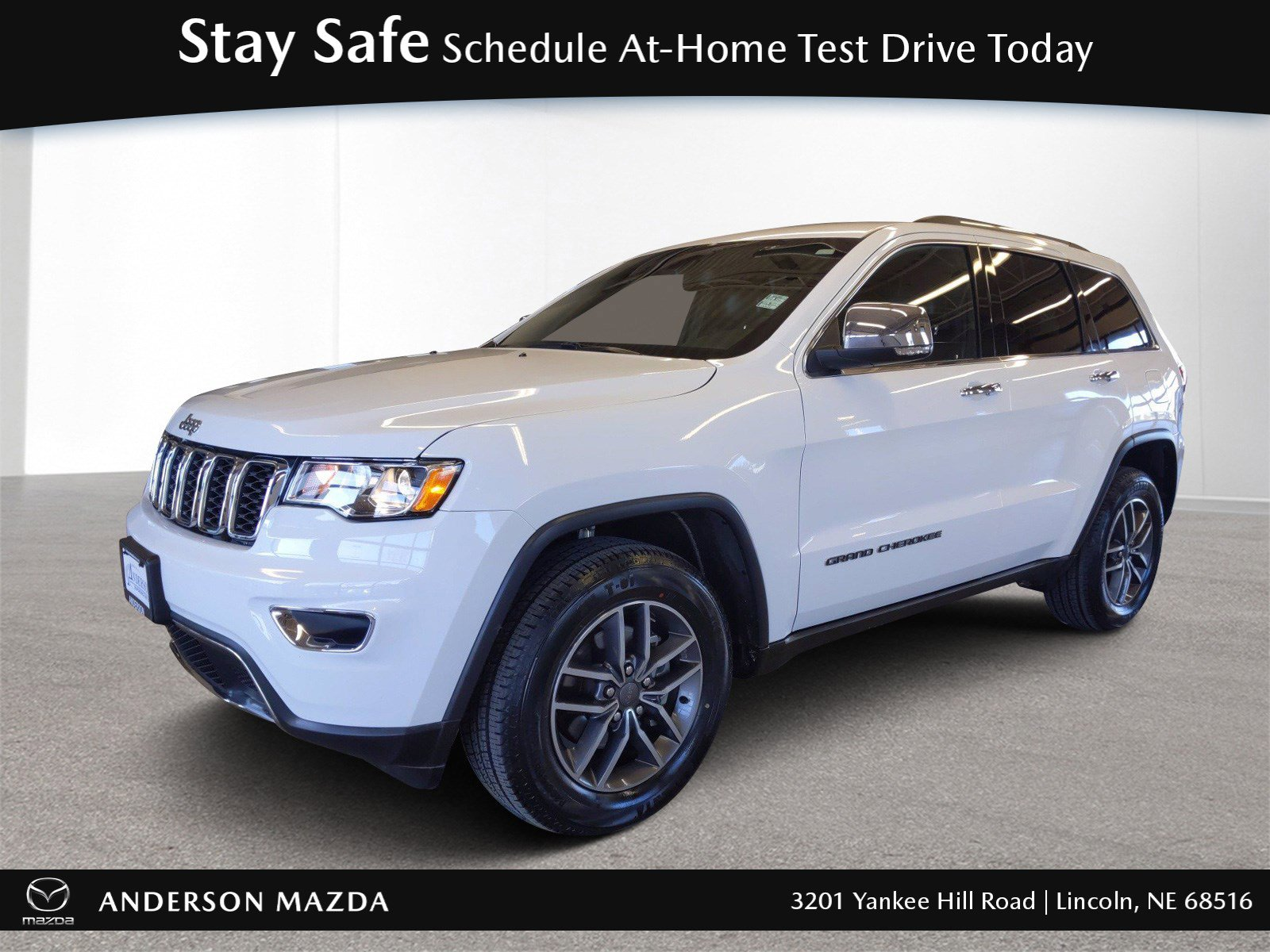 Used 2019 Jeep Grand Cherokee Limited 4×4 Stock: MT5244