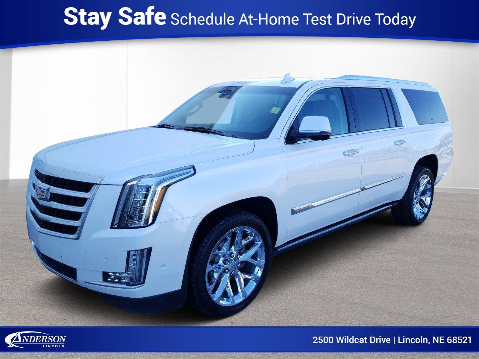 Used 2017 Cadillac Escalade ESV Premium Luxury Sport Utility for sale in Lincoln NE