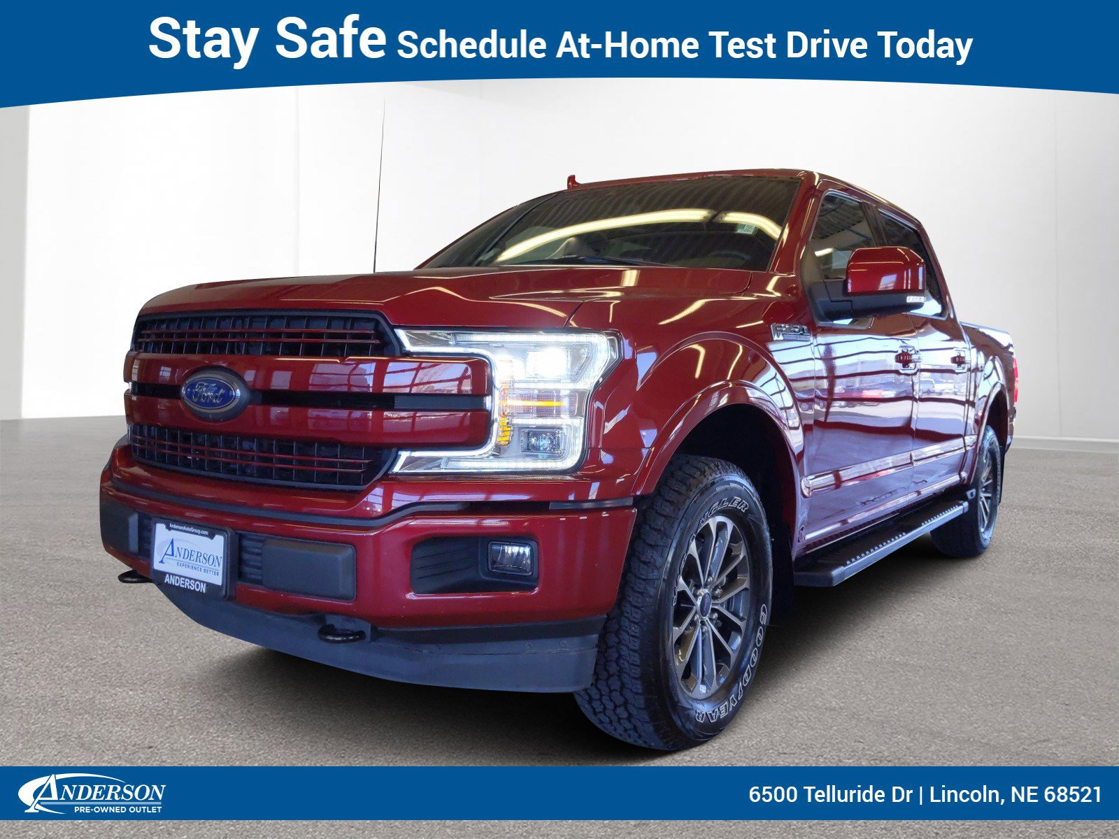 Used 2018 Ford F-150 LARIAT Crew Cab Pickup for sale in Lincoln NE