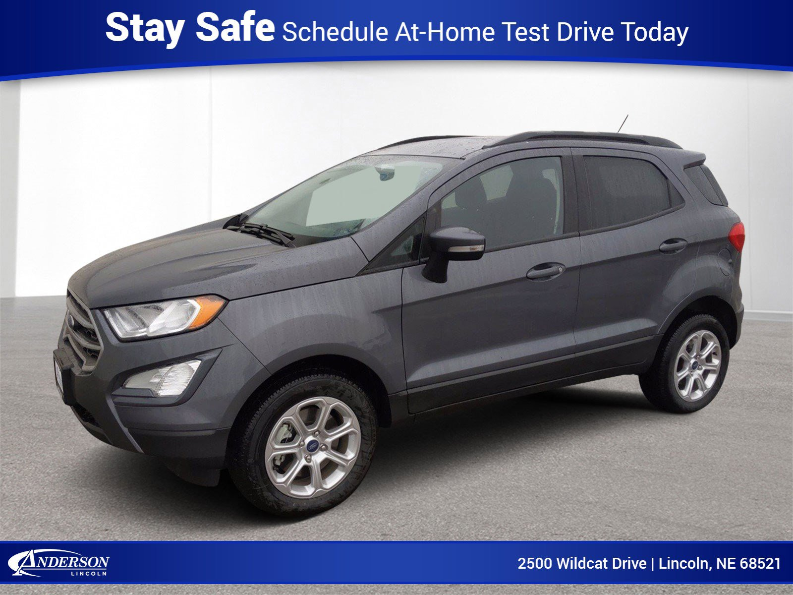 New 2020 Ford EcoSport SE Sport Utility for sale in Lincoln NE