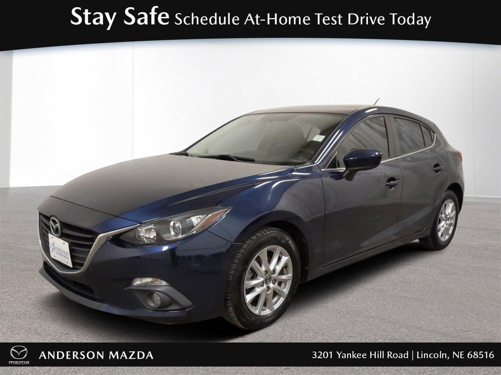 Used 2015 Mazda Mazda3 i Touring Hatchback for sale in Lincoln NE