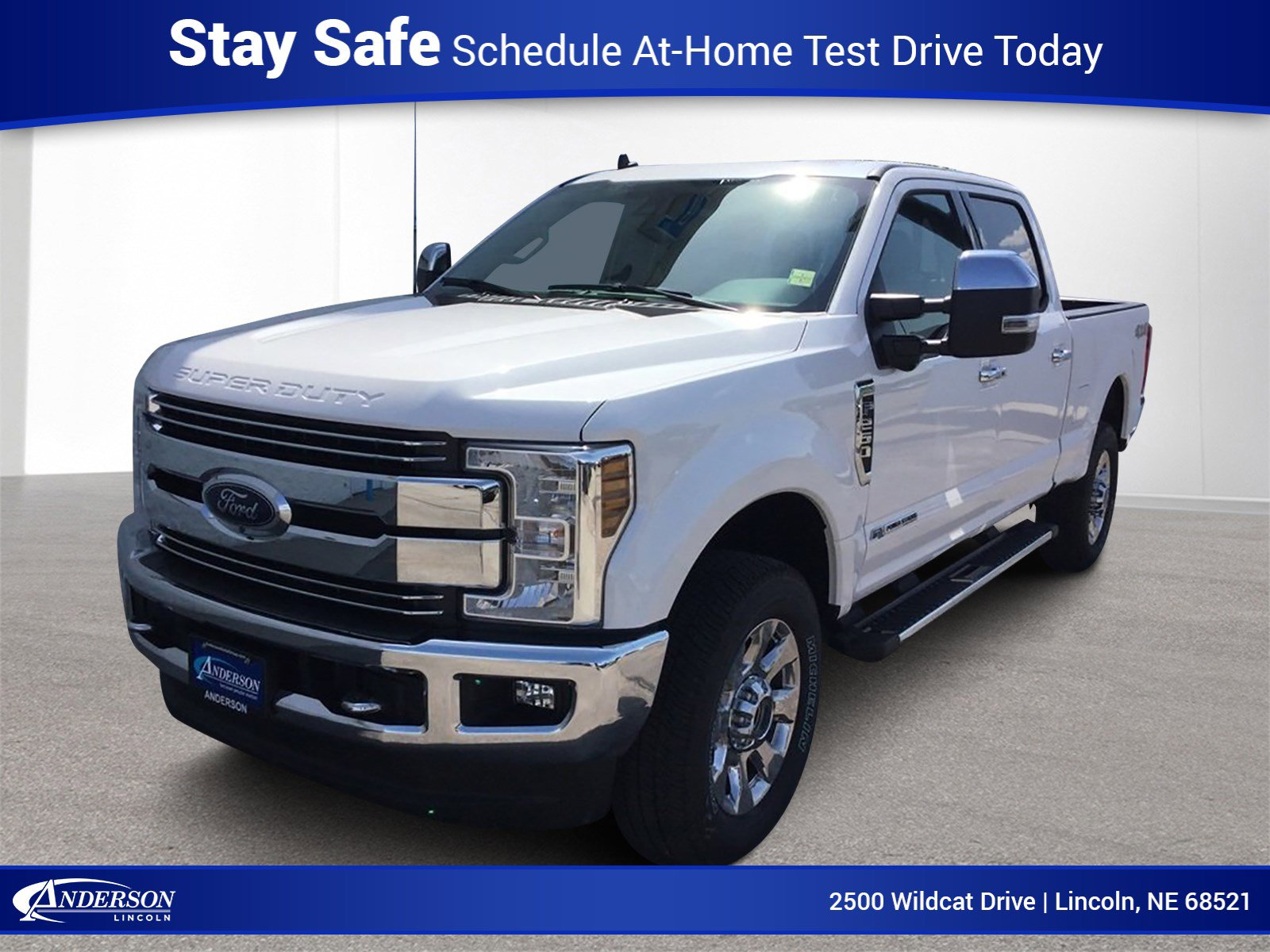 New 2019 Ford Super Duty F-250 SRW Lariat Crew Cab Pickup for sale in Lincoln NE