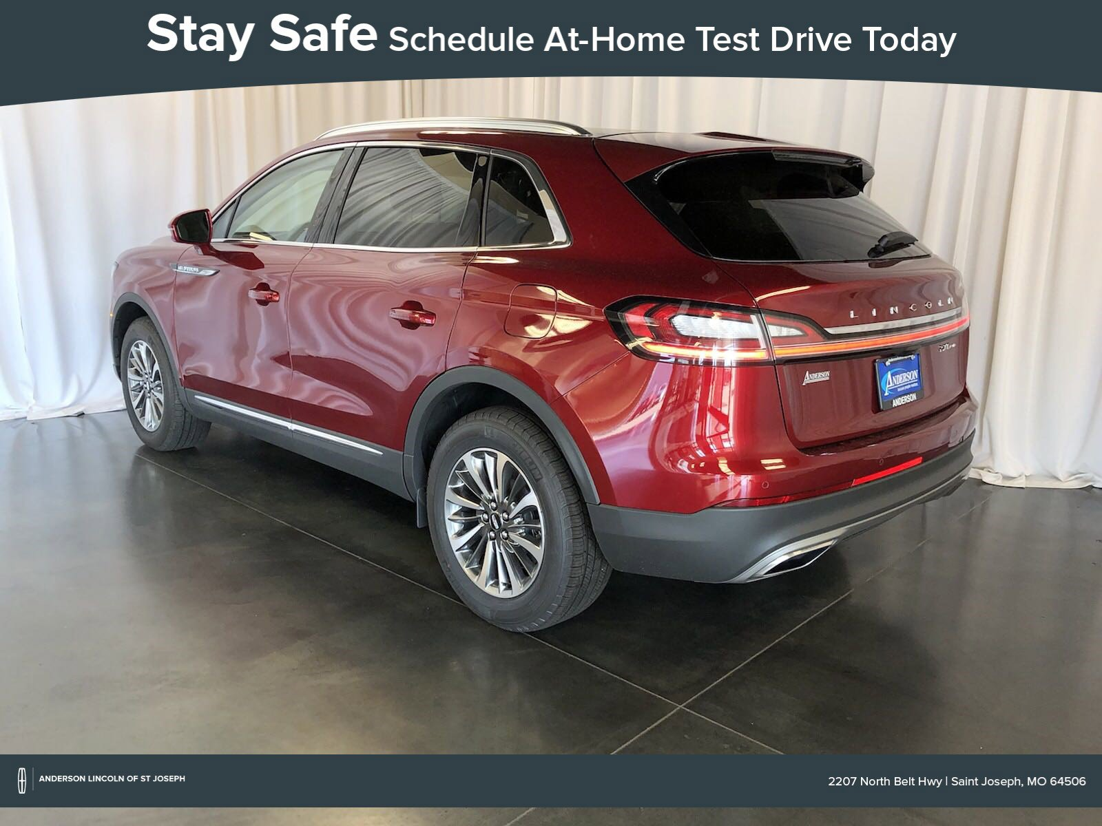 New 2019 Lincoln Nautilus Select Sport Utility for sale in St Joseph MO
