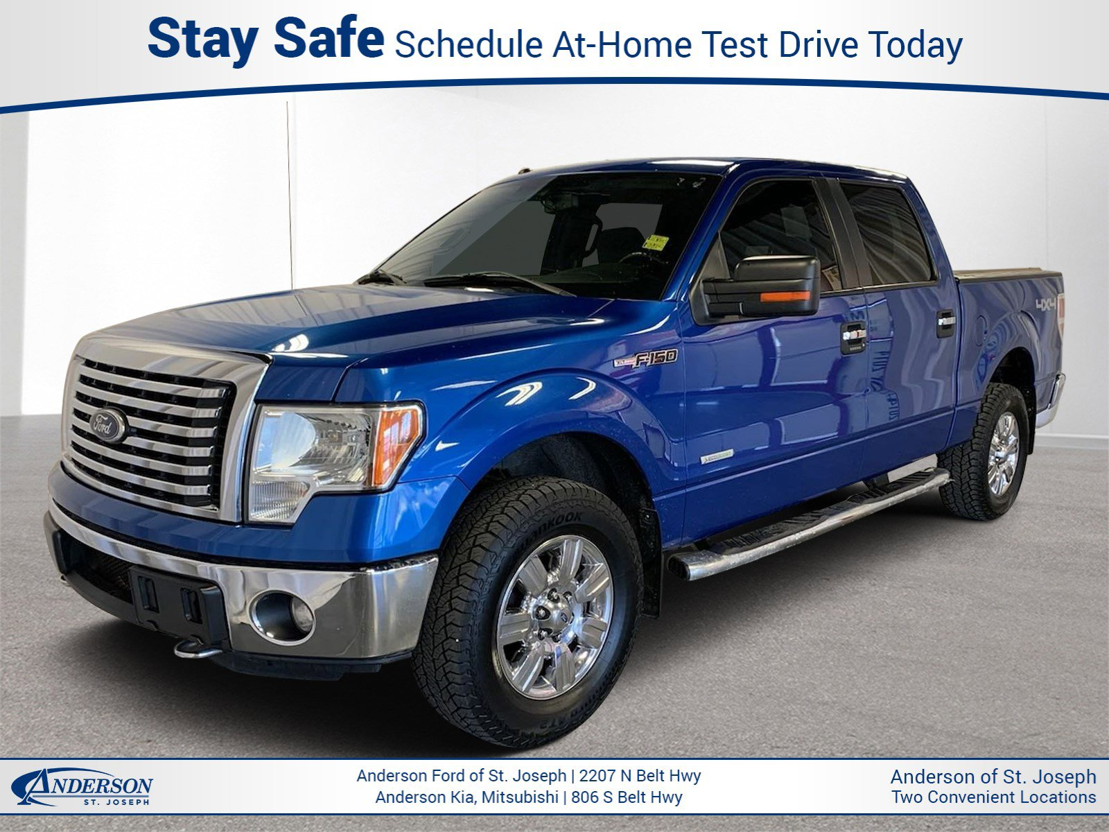Used 2011 Ford F-150 XLT Crew Cab Pickup for sale in St Joseph MO