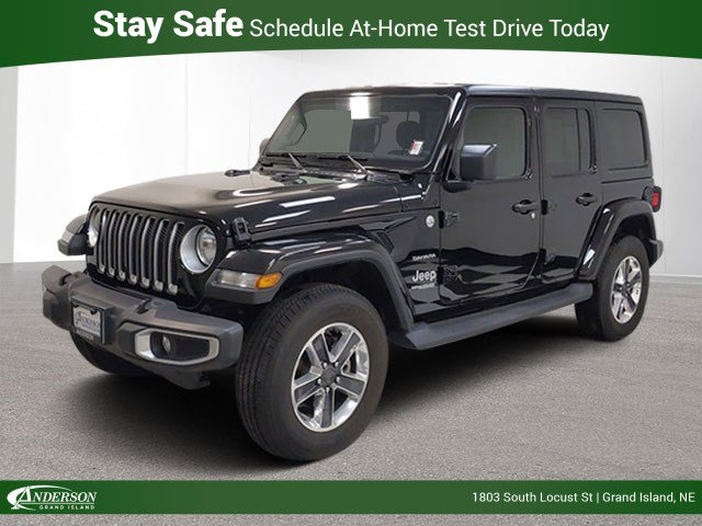 Used 2019 Jeep Wrangler Unlimited Sahara Convertible for sale in Grand Island NE