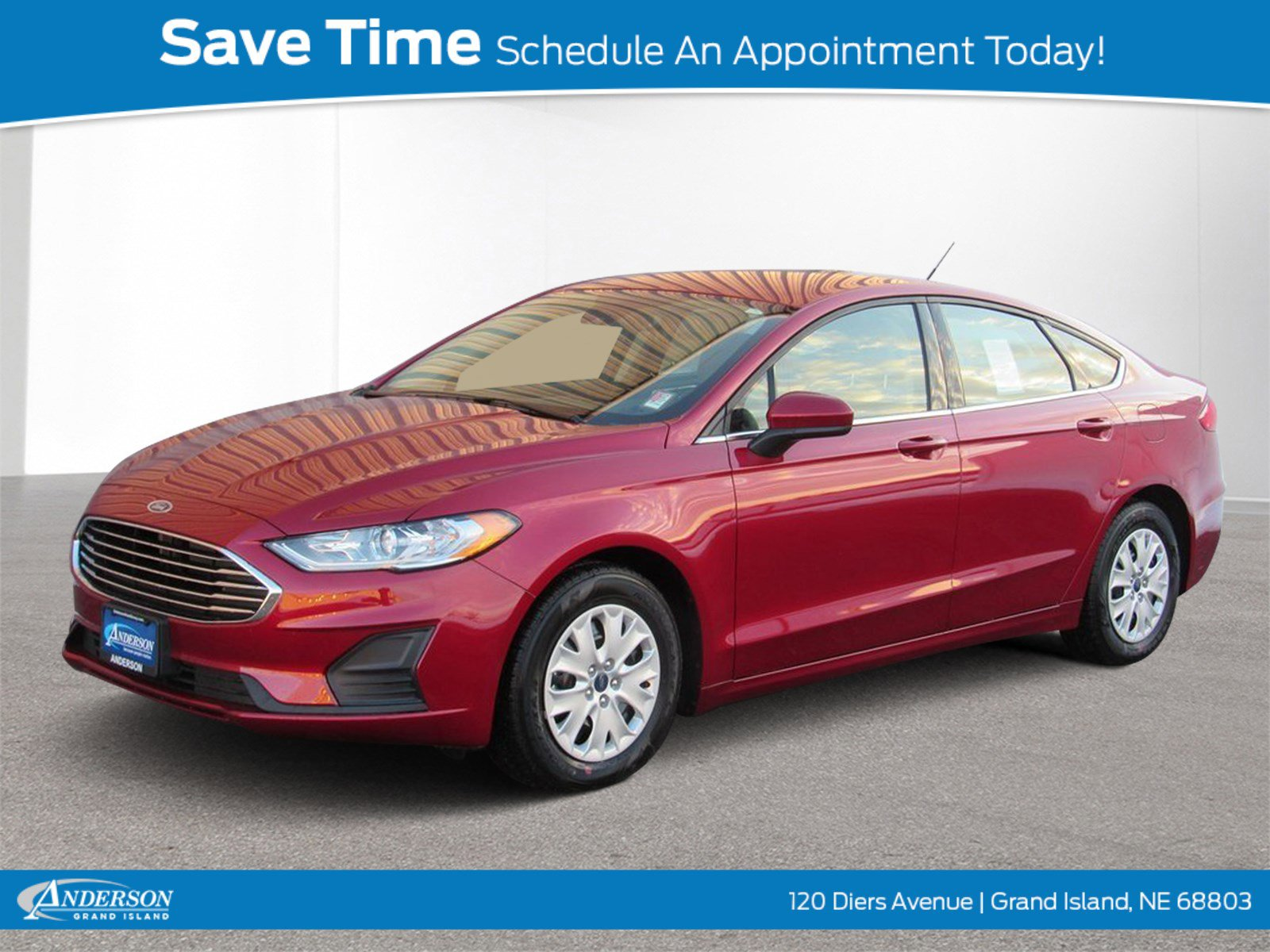 New 2019 Ford Fusion S 4D Sedan for sale in Grand Island NE