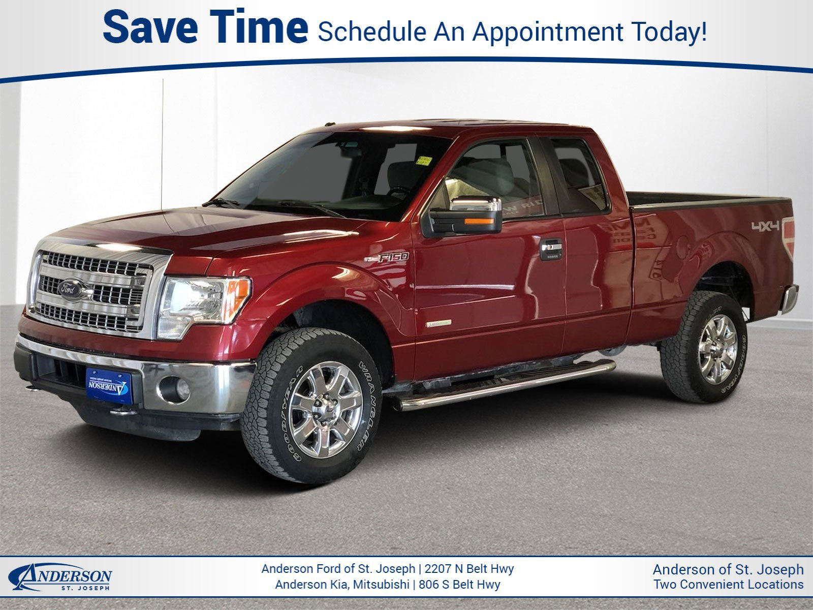 Used 2014 Ford F-150 XLT Extended Cab Pickup for sale in St Joseph MO