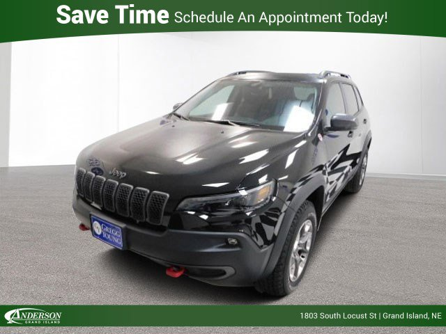 New 2019 Jeep Cherokee Trailhawk Sport Utility for sale in Grand Island NE