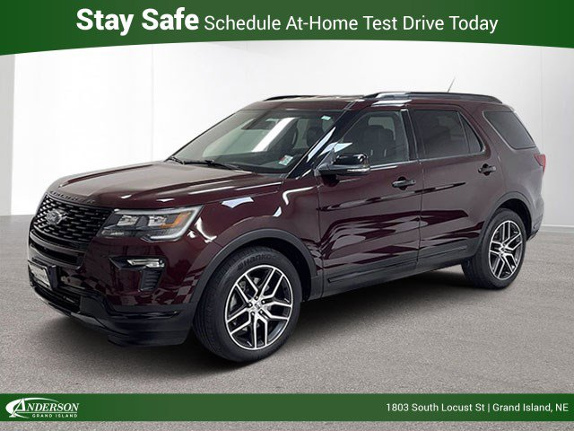Used 2019 Ford Explorer Sport 4WD Stock: Jj2524a