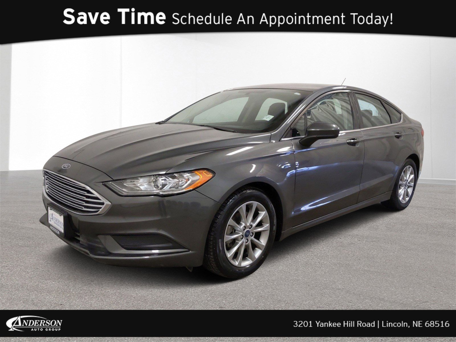 Used 2017 Ford Fusion SE 4dr Car for sale in Lincoln NE
