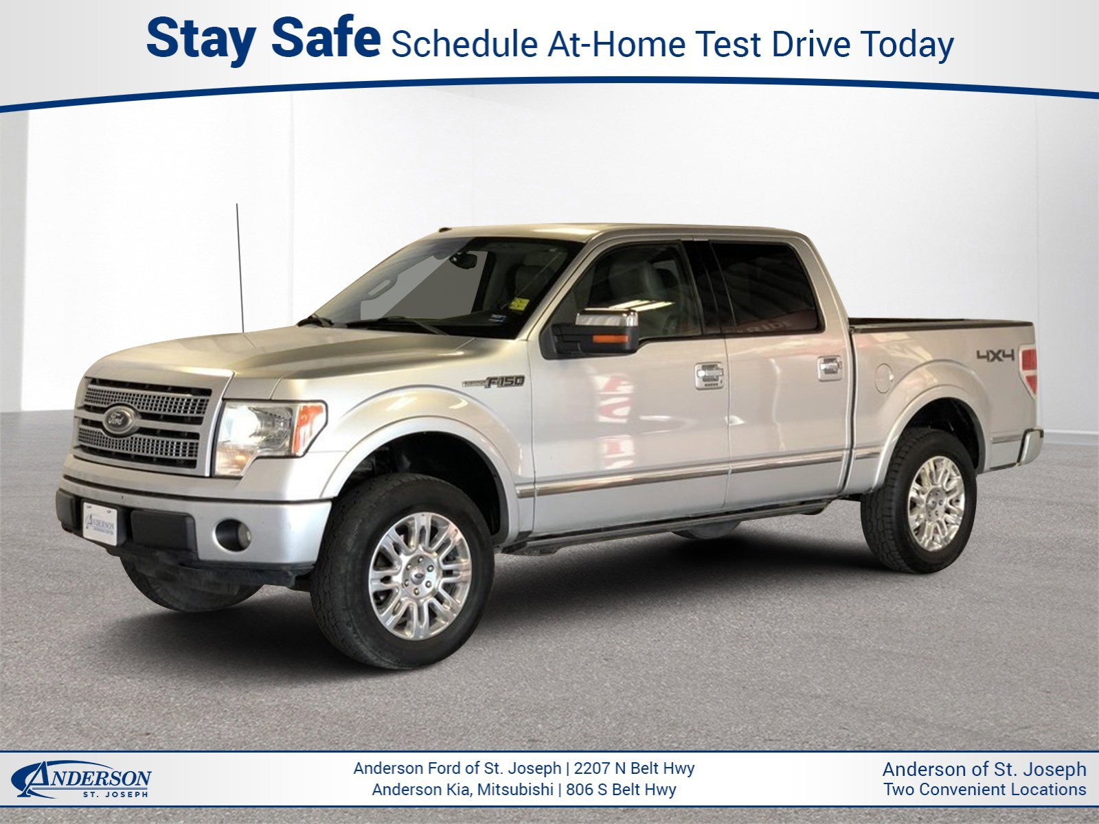 Used 2010 Ford F-150 XL Crew Cab Pickup for sale in St Joseph MO
