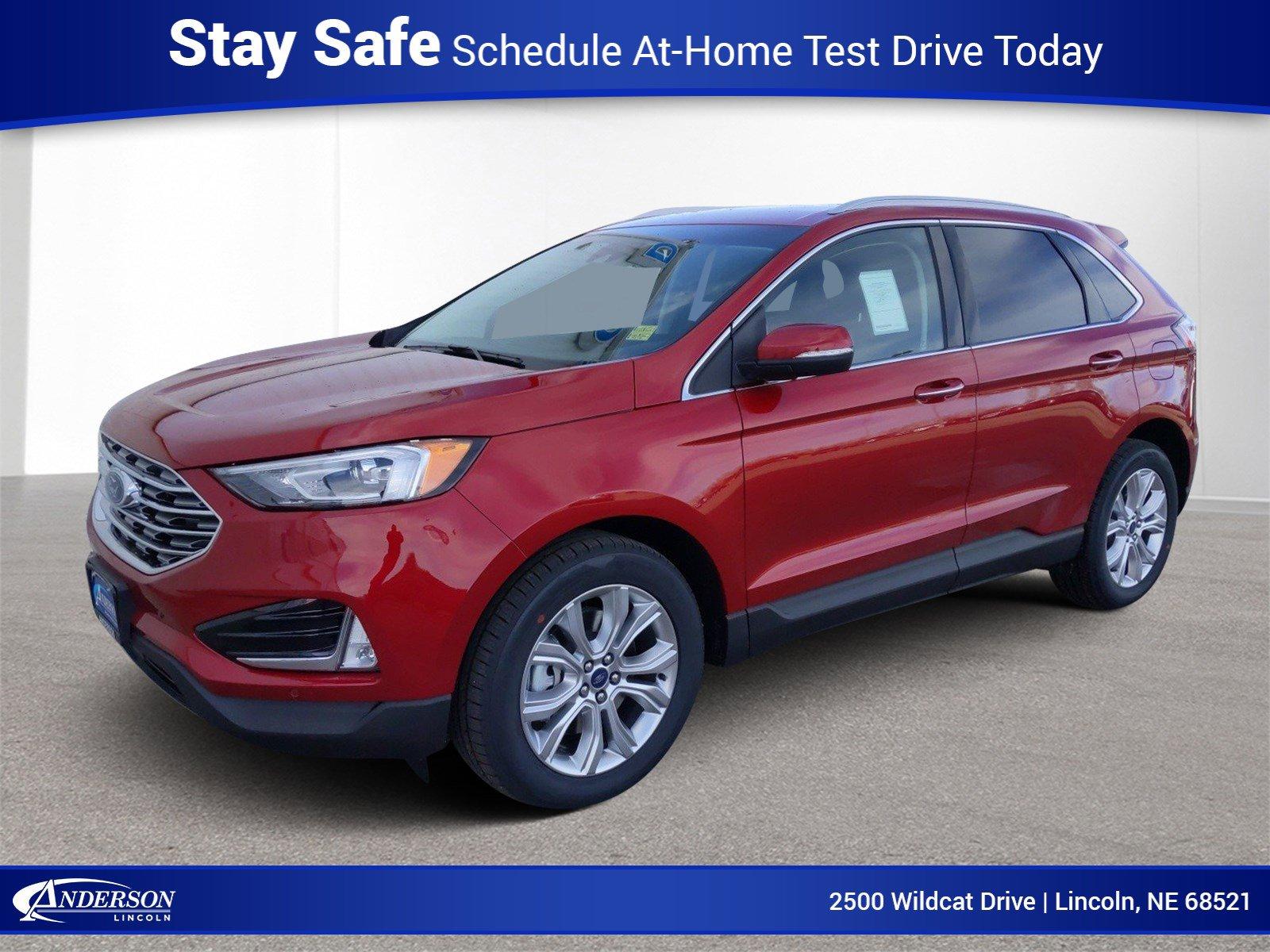 New 2020 Ford Edge Titanium Sport Utility for sale in Lincoln NE