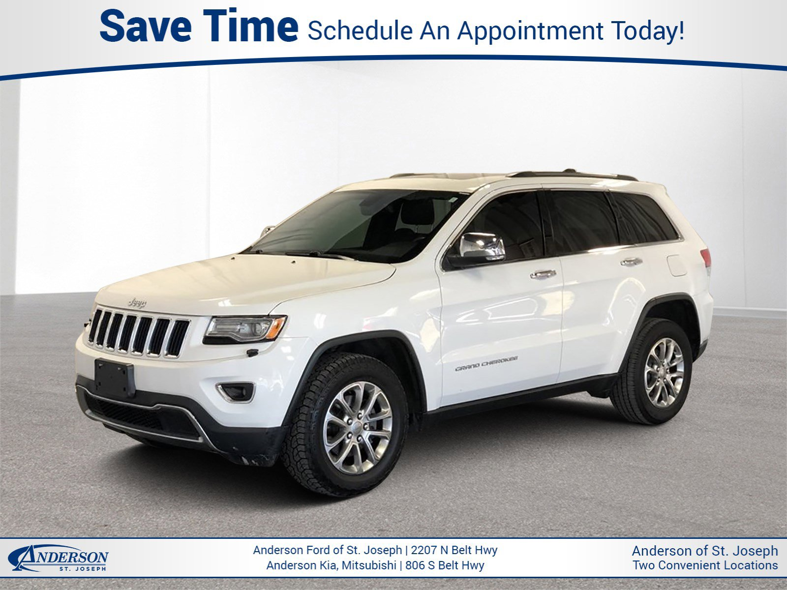 Used 2015 Jeep Grand Cherokee Limited Sport Utility for sale in St Joseph MO