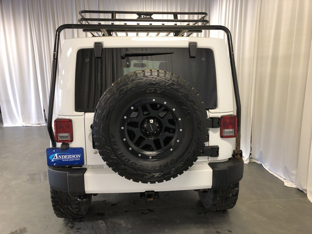 Used 2016 Jeep Wrangler Unlimited Sahara Convertible for sale in St Joseph MO