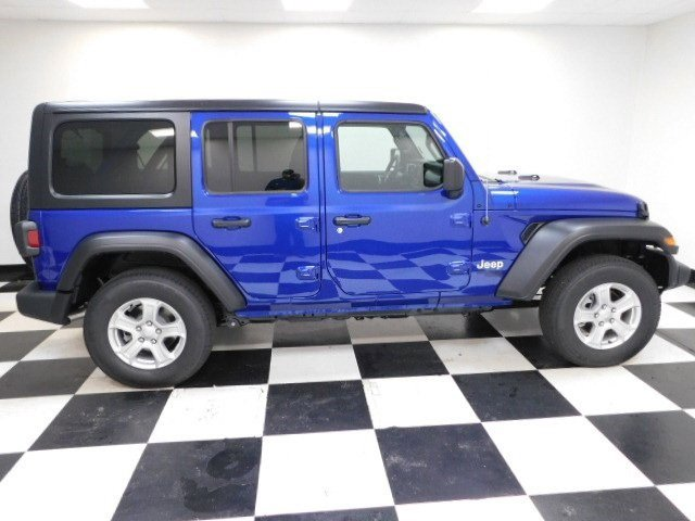 New 2020 Jeep Wrangler Unlimited Sport s Convertible for sale in Grand Island NE