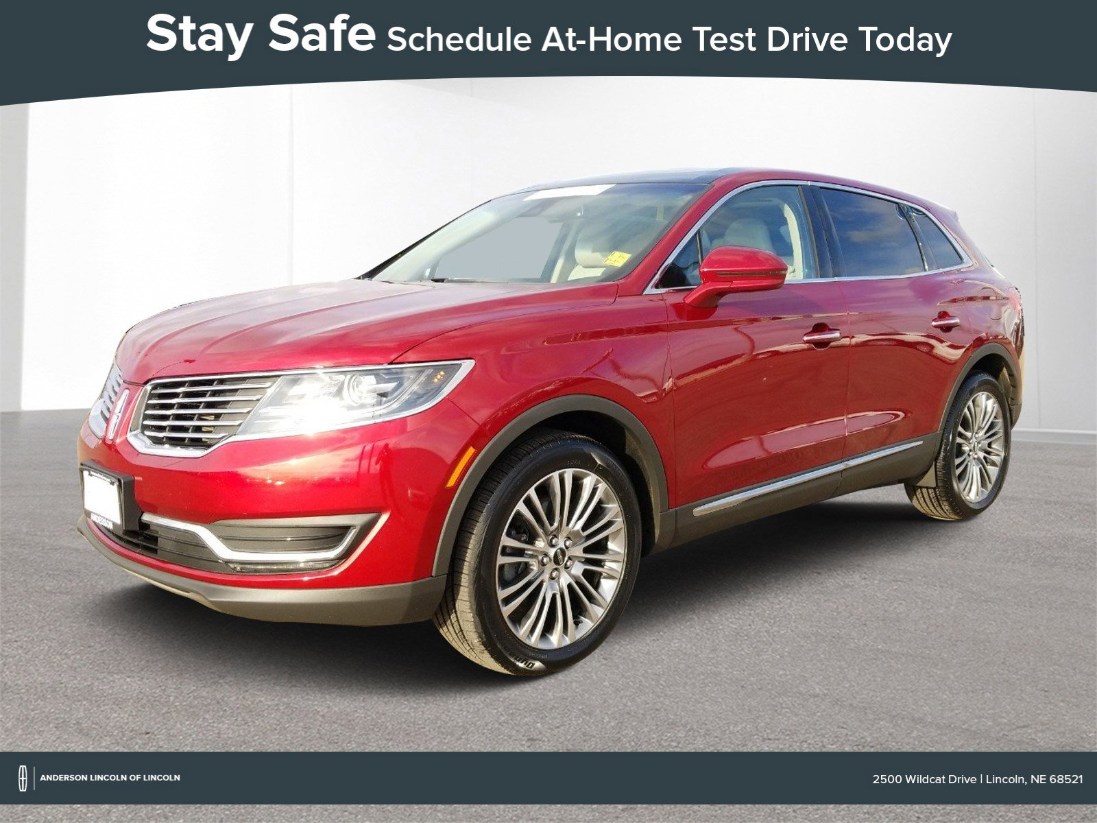 Used 2017 Lincoln MKX Reserve Sport Utility for sale in Lincoln NE