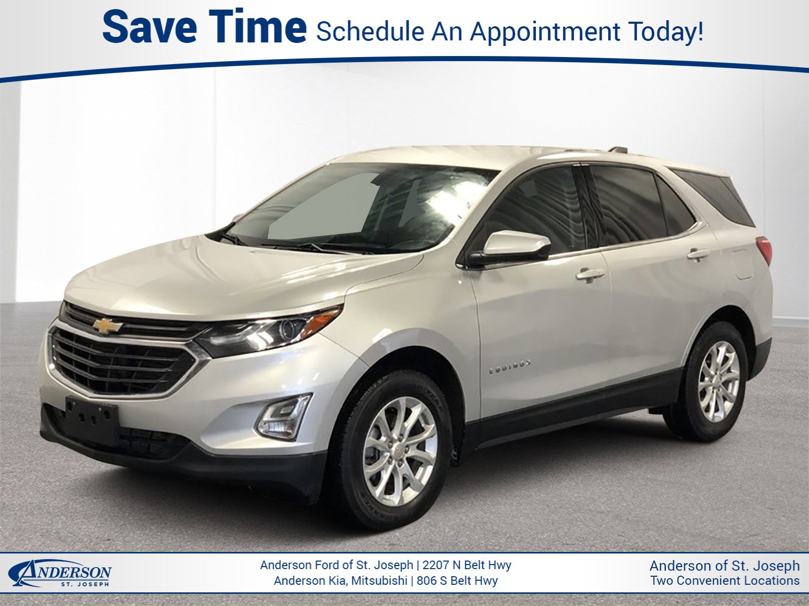 Used 2018 Chevrolet Equinox LT Sport Utility for sale in St Joseph MO