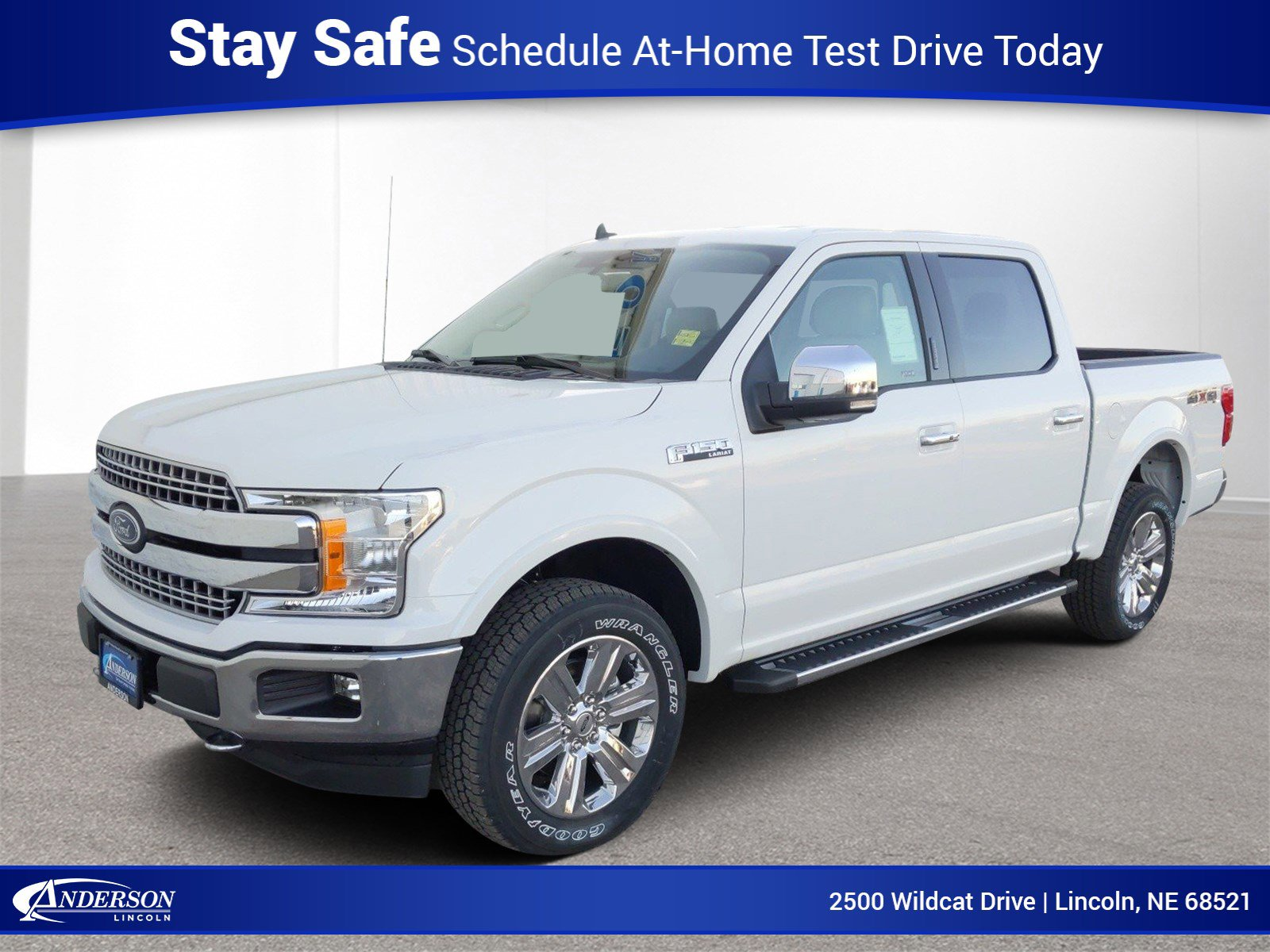 New 2020 Ford F-150 Lariat Crew Cab Pickup for sale in Lincoln NE