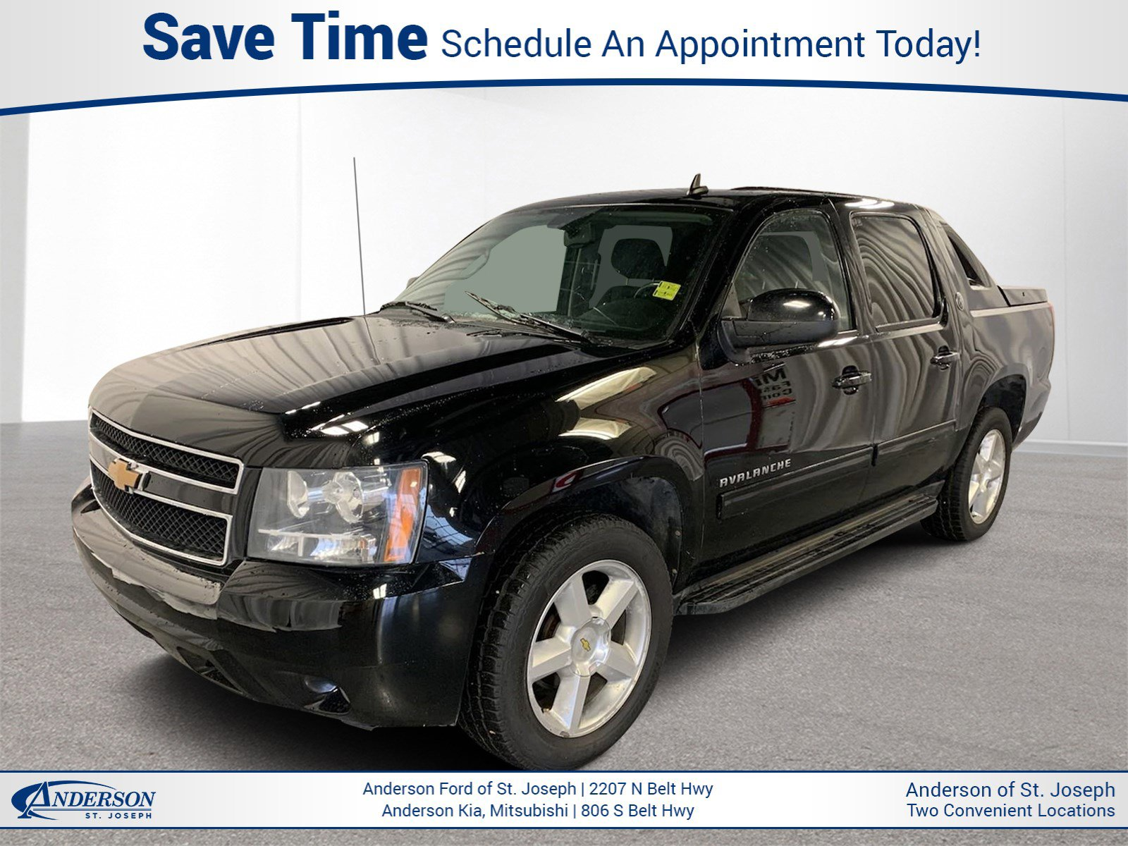 Used 2013 Chevrolet Avalanche LT Crew Cab Pickup for sale in St Joseph MO