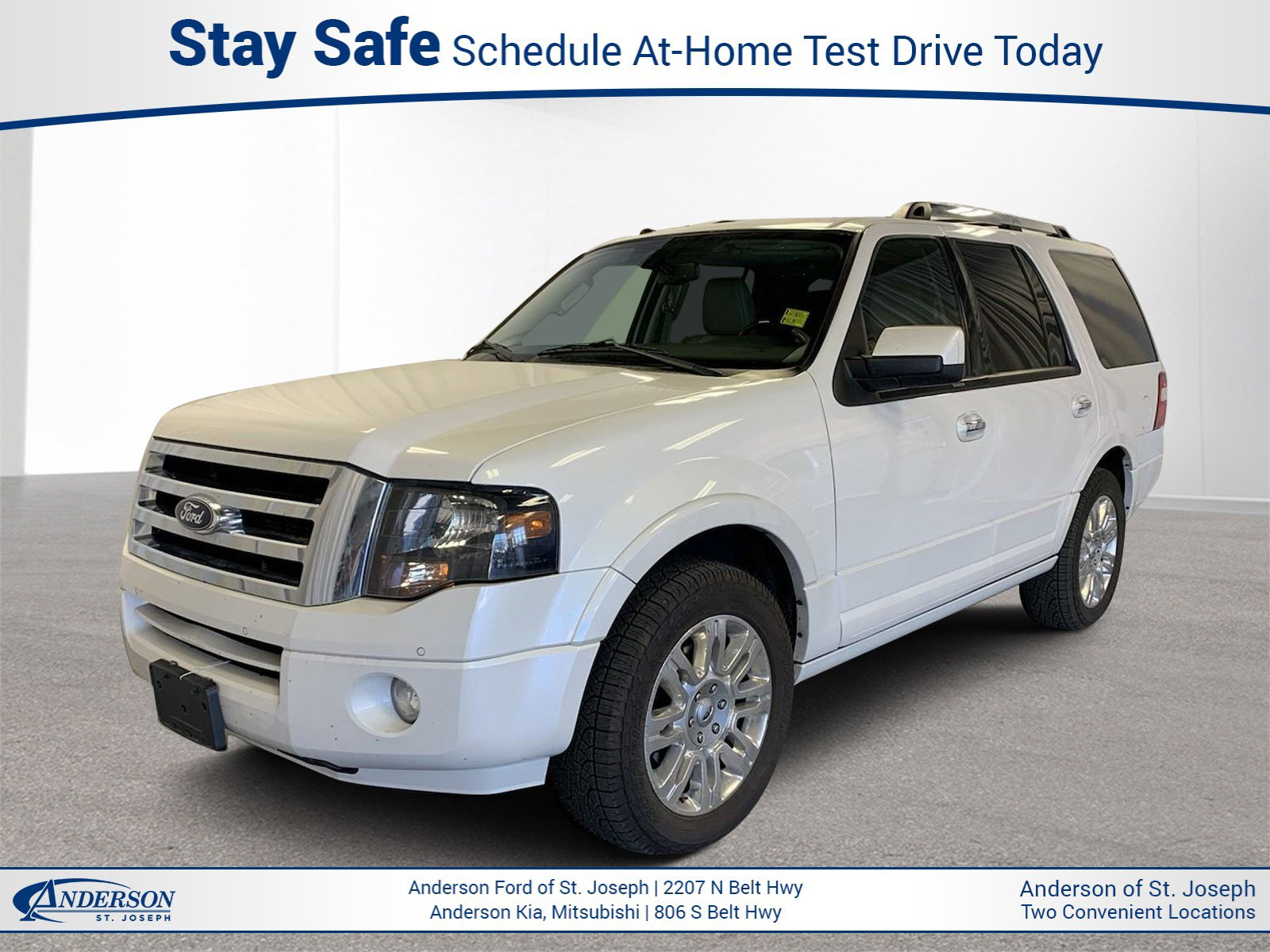 Used 2014 Ford Expedition Limited Sport Utility for sale in St Joseph MO