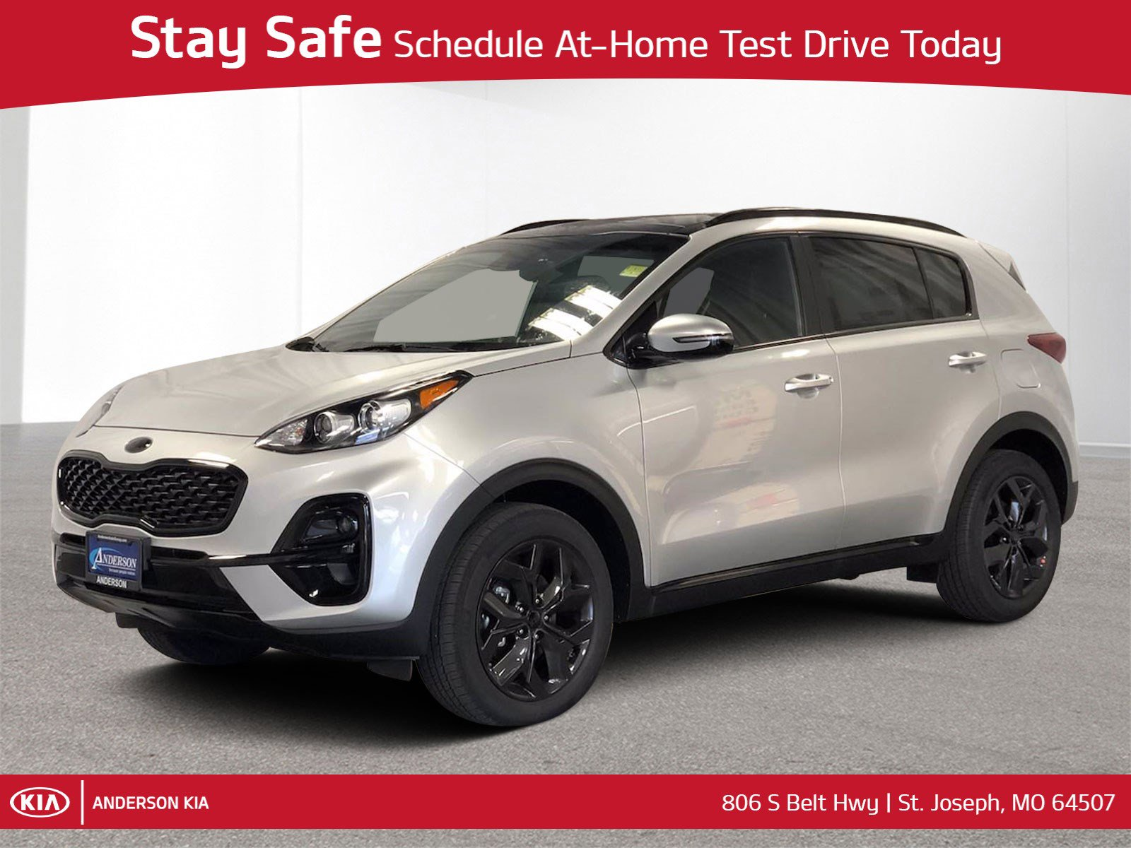 New 2021 Kia Sportage S Sport Utility for sale in St Joseph MO