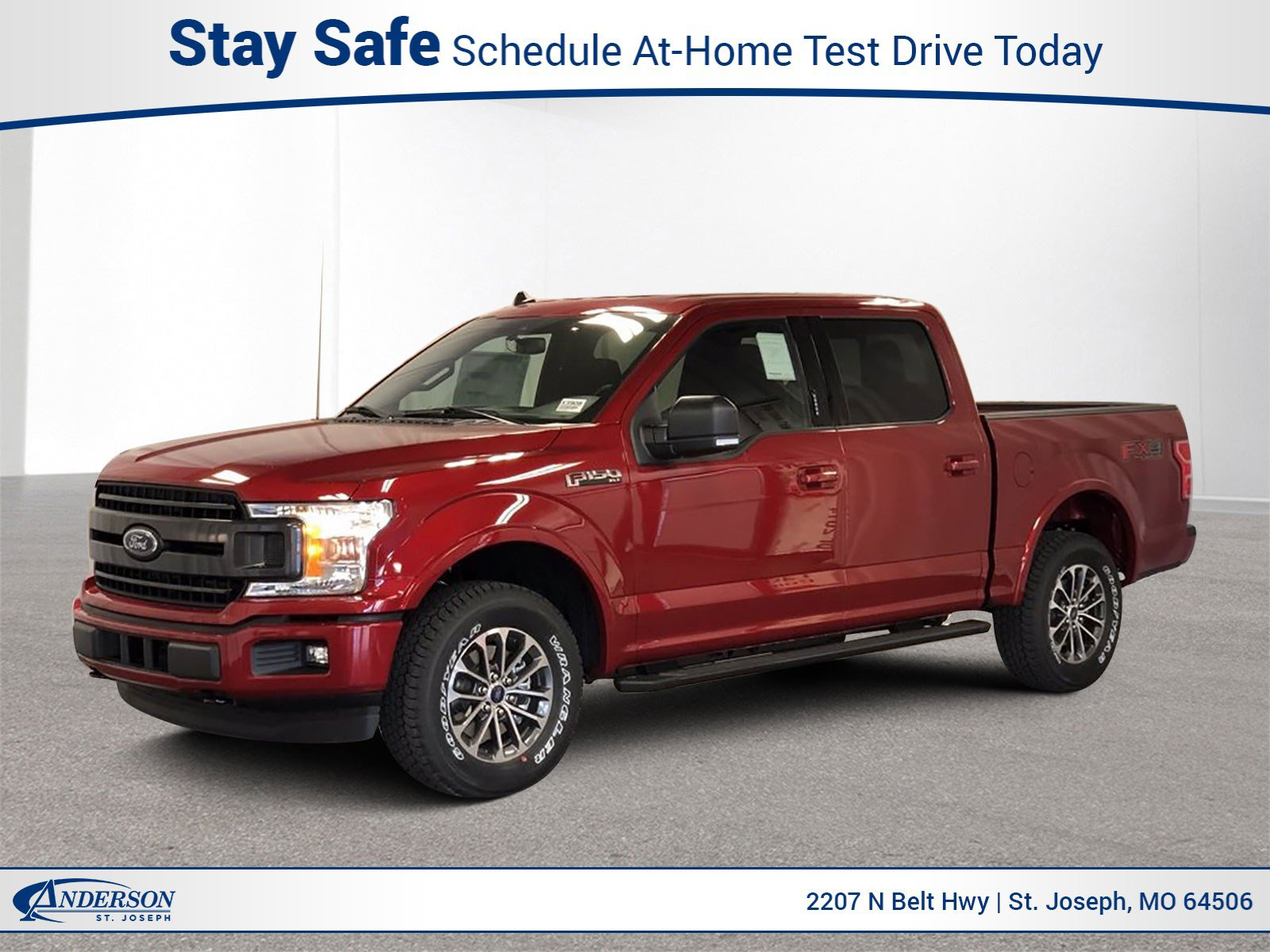 New 2020 Ford F-150 XLT 4WD SuperCrew 5.5′ Box Stock: S18950