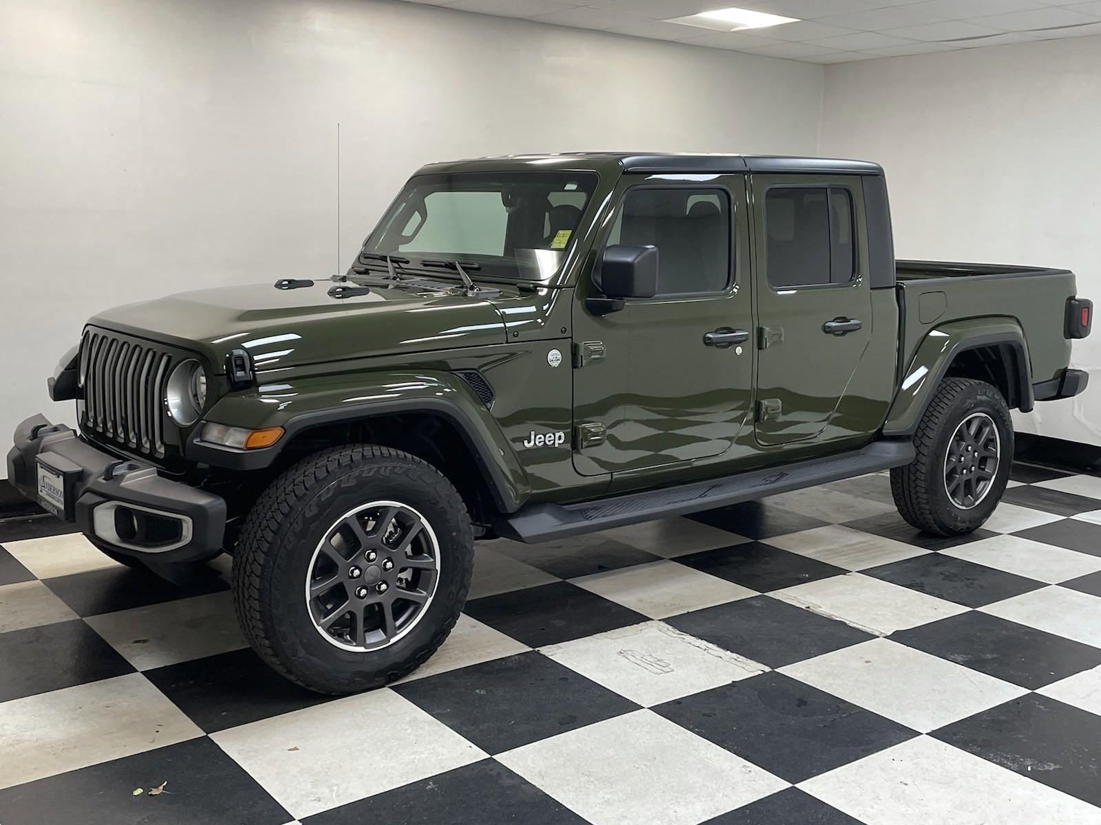 New 2021 Jeep Gladiator Overland Crew Cab Pickup for sale in Grand Island NE