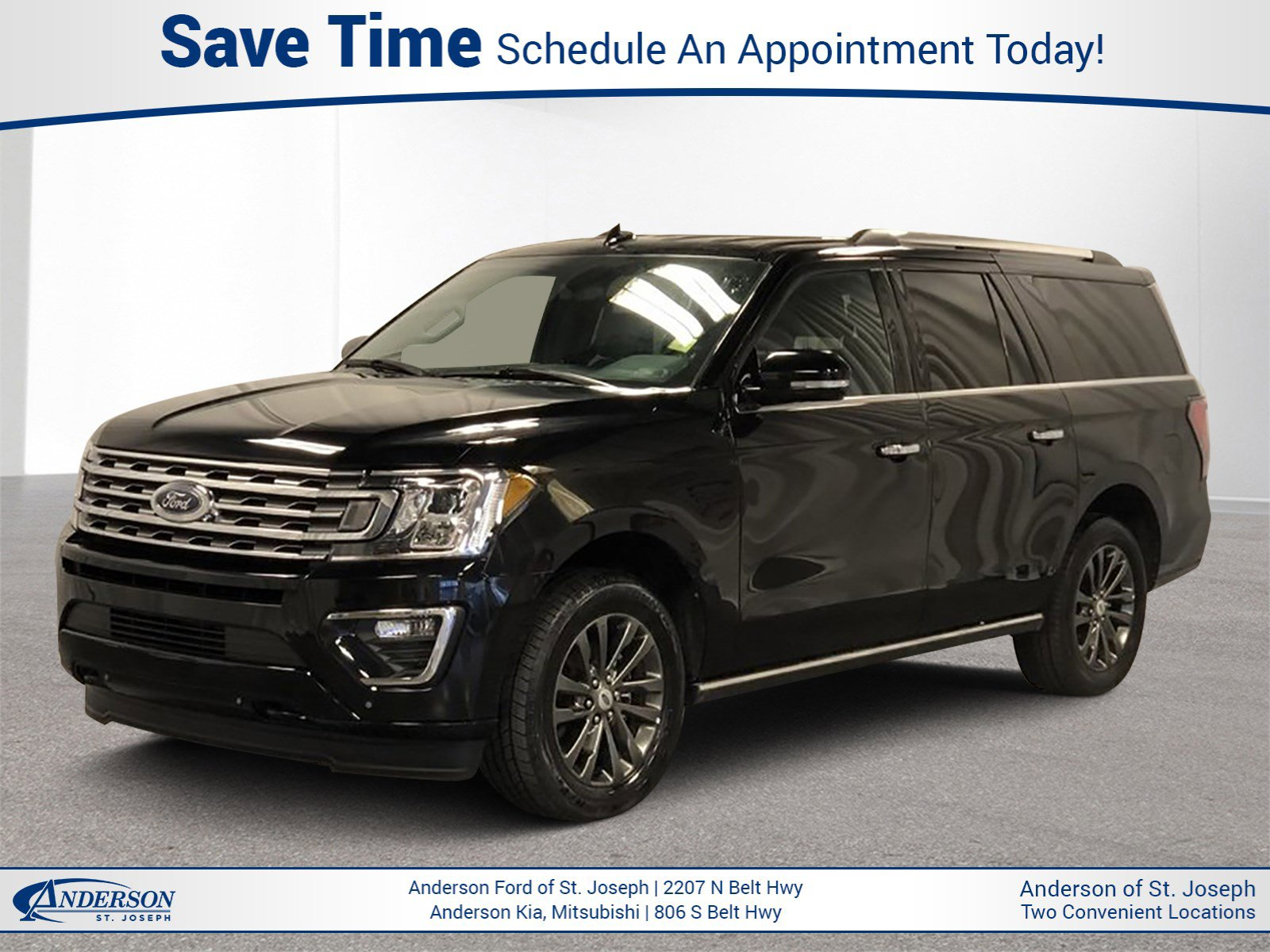 Used 2019 Ford Expedition Max Limited Sport Utility for sale in St Joseph MO