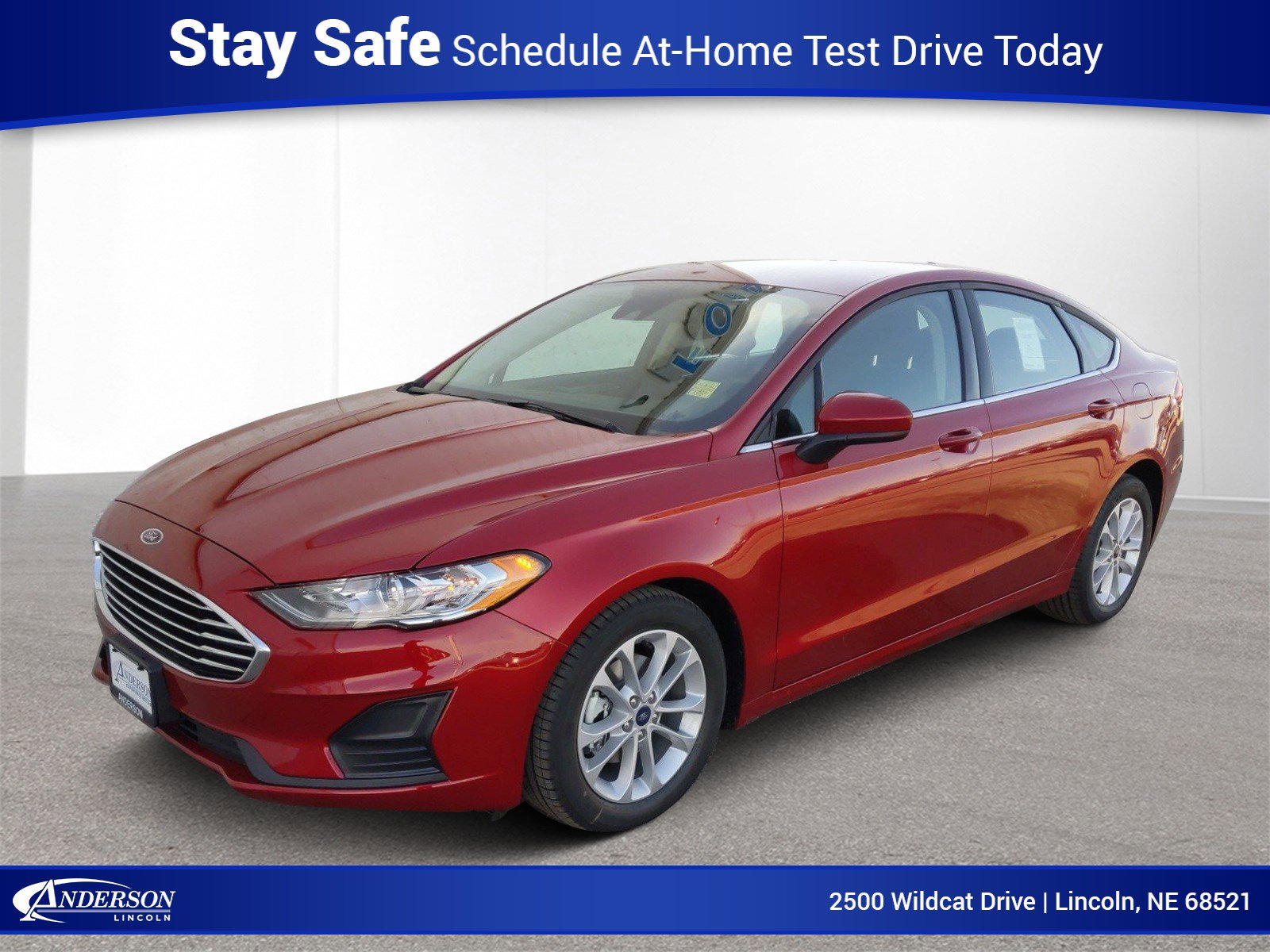 New 2020 Ford Fusion SE 4dr Car for sale in Lincoln NE