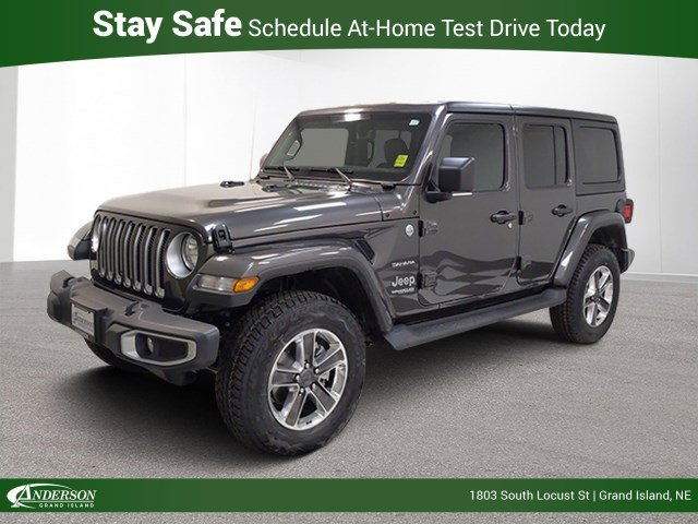 New 2020 Jeep Wrangler Unlimited Sahara Convertible for sale in Grand Island NE