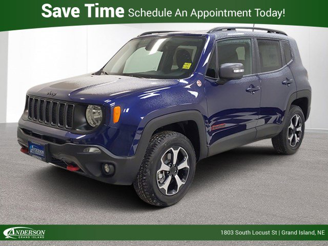 New 2020 Jeep Renegade Trailhawk Sport Utility for sale in Grand Island NE