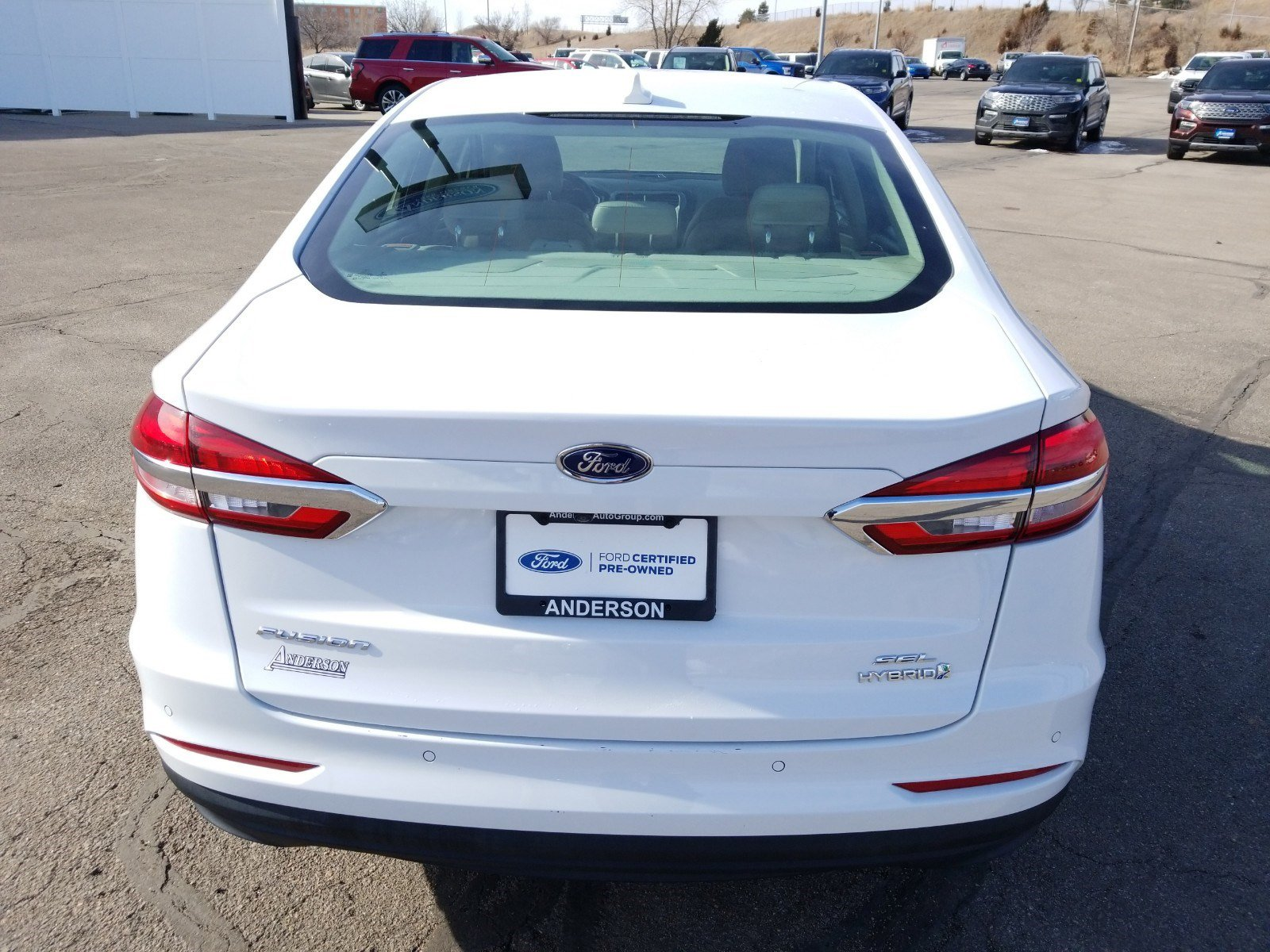 Used 2019 Ford Fusion Hybrid SEL 4dr Car for sale in Lincoln NE