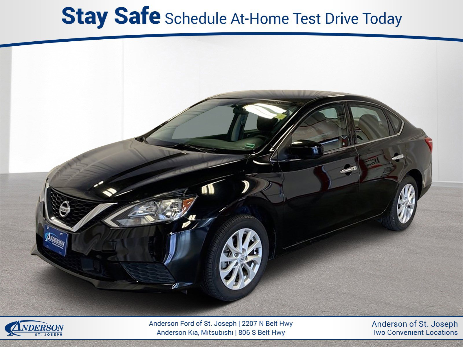 Used 2018 Nissan Sentra SV 4dr Car for sale in St Joseph MO