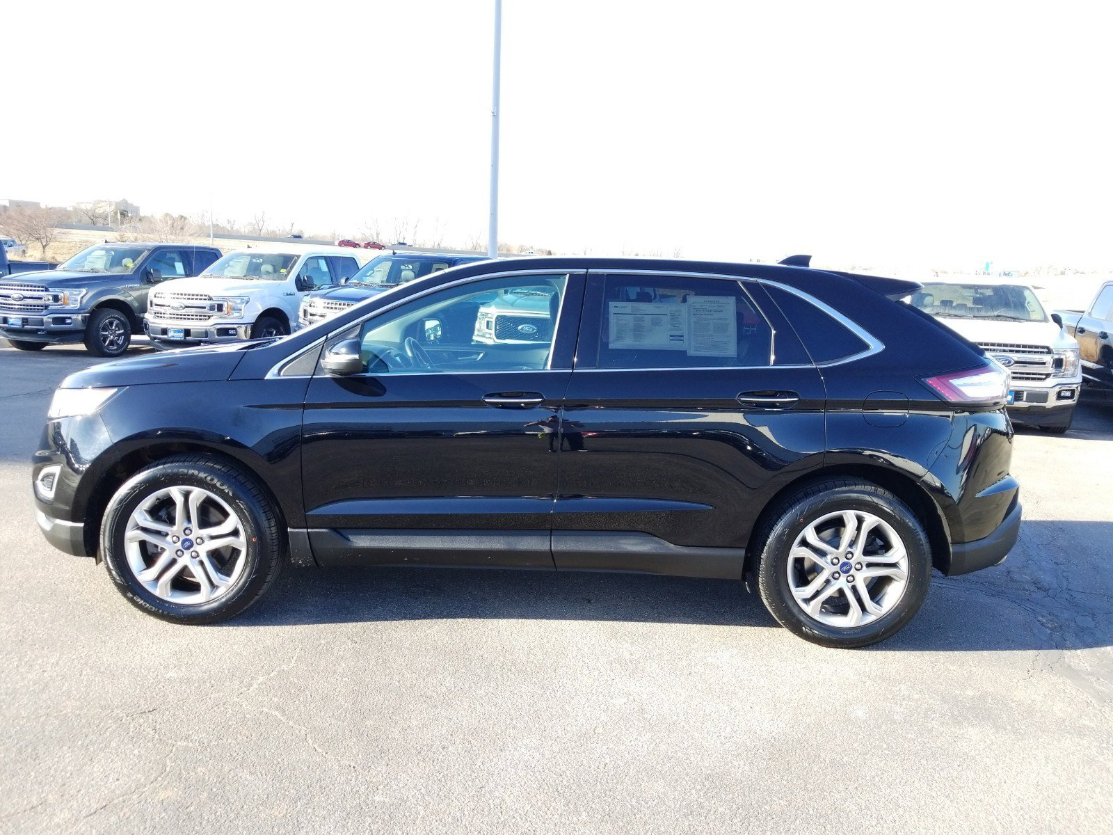Used 2017 Ford Edge Titanium Sport Utility for sale in Lincoln NE