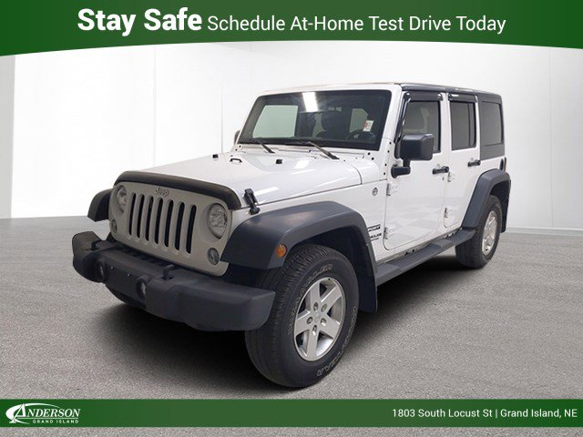 Used 2014 Jeep Wrangler Unlimited Sport Convertible for sale in Grand Island NE