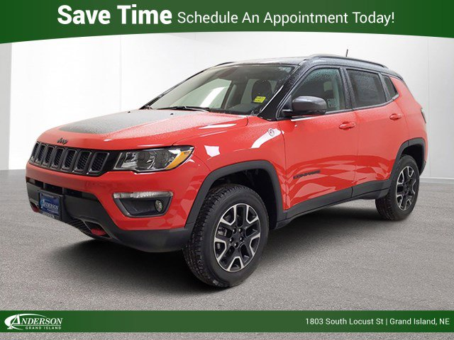 New 2020 Jeep Compass Trailhawk Sport Utility for sale in Grand Island NE