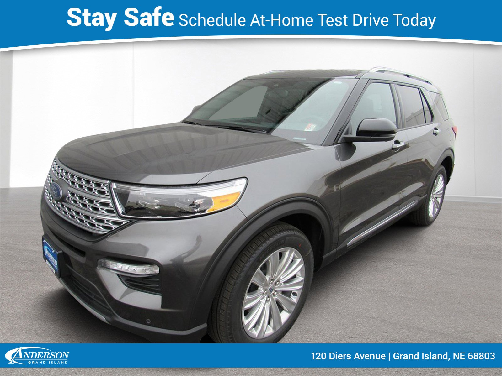 New 2020 Ford Explorer Limited 4D Sport Utility for sale in Grand Island NE