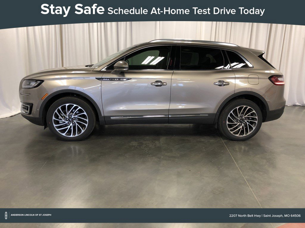 New 2020 Lincoln Nautilus Reserve Sport Utility for sale in St Joseph MO