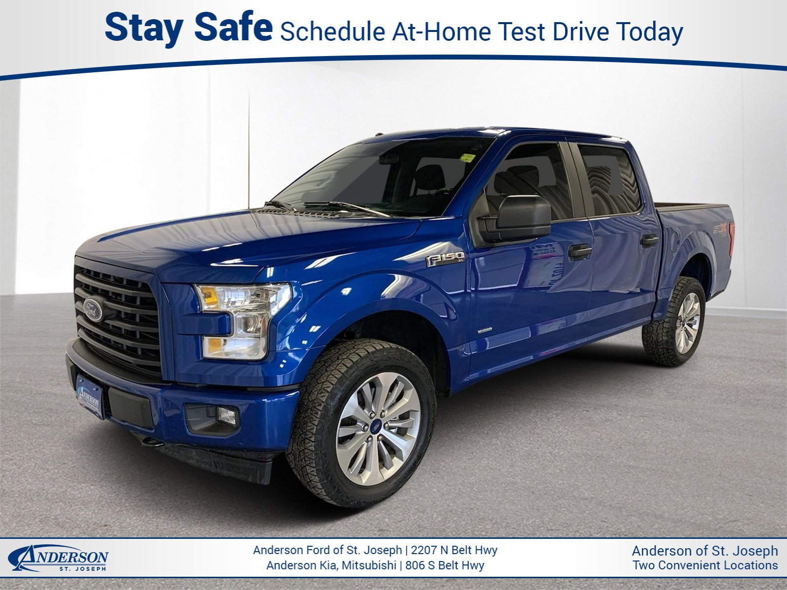 Used 2017 Ford F-150 XL Crew Cab Pickup for sale in St Joseph MO