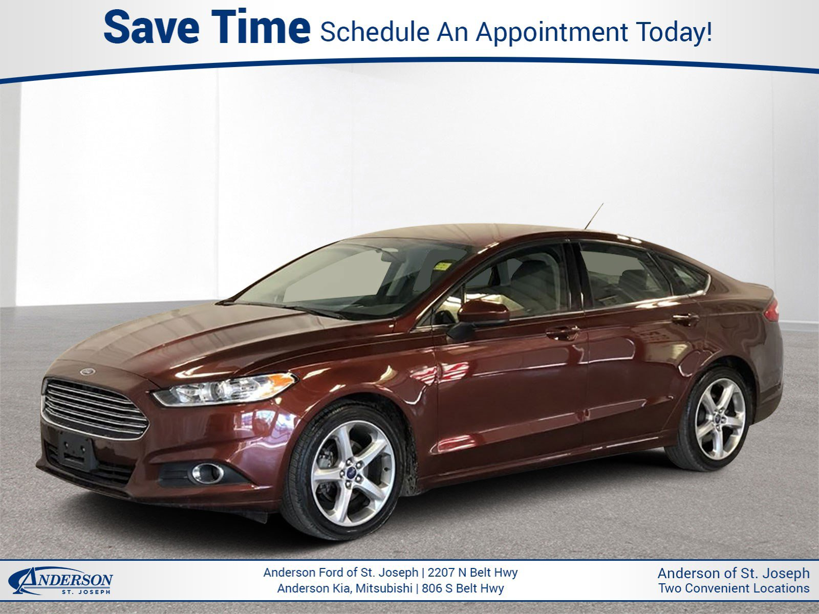 Used 2016 Ford Fusion S 4dr Car for sale in St Joseph MO