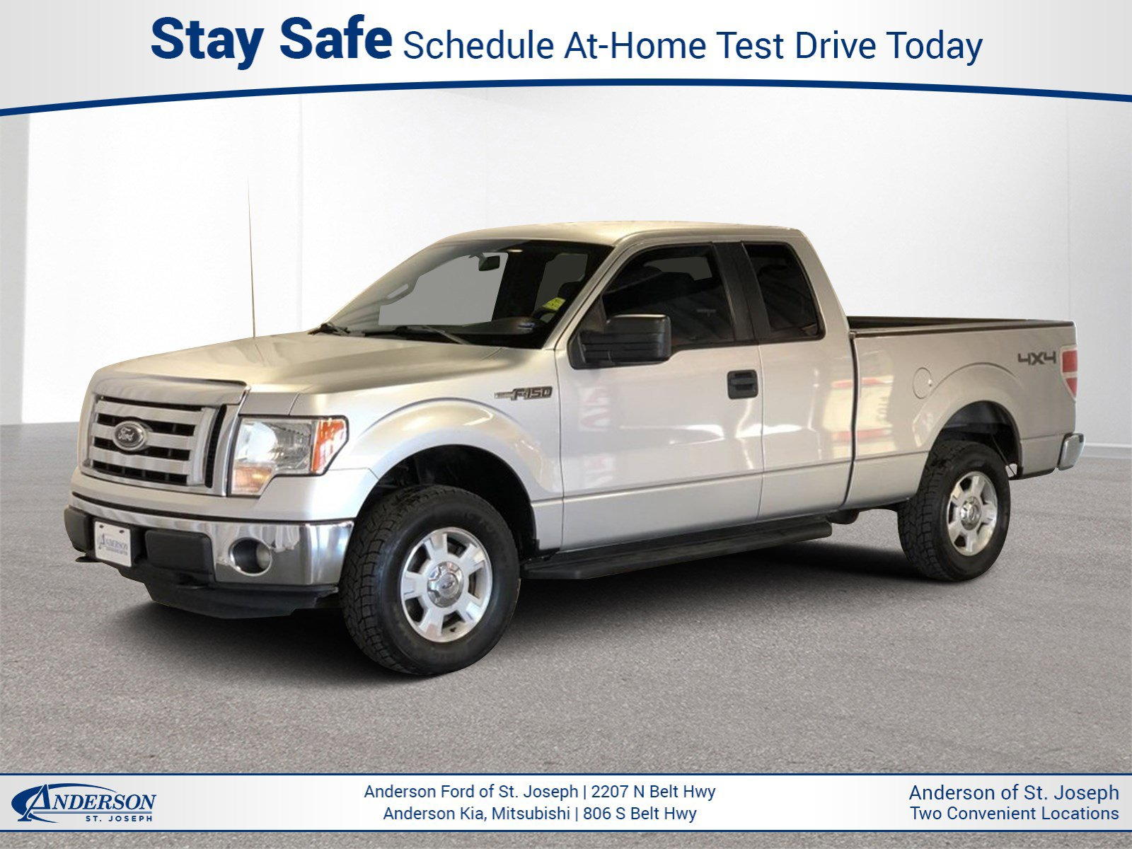 Used 2012 Ford F-150 XLT Extended Cab Pickup for sale in St Joseph MO