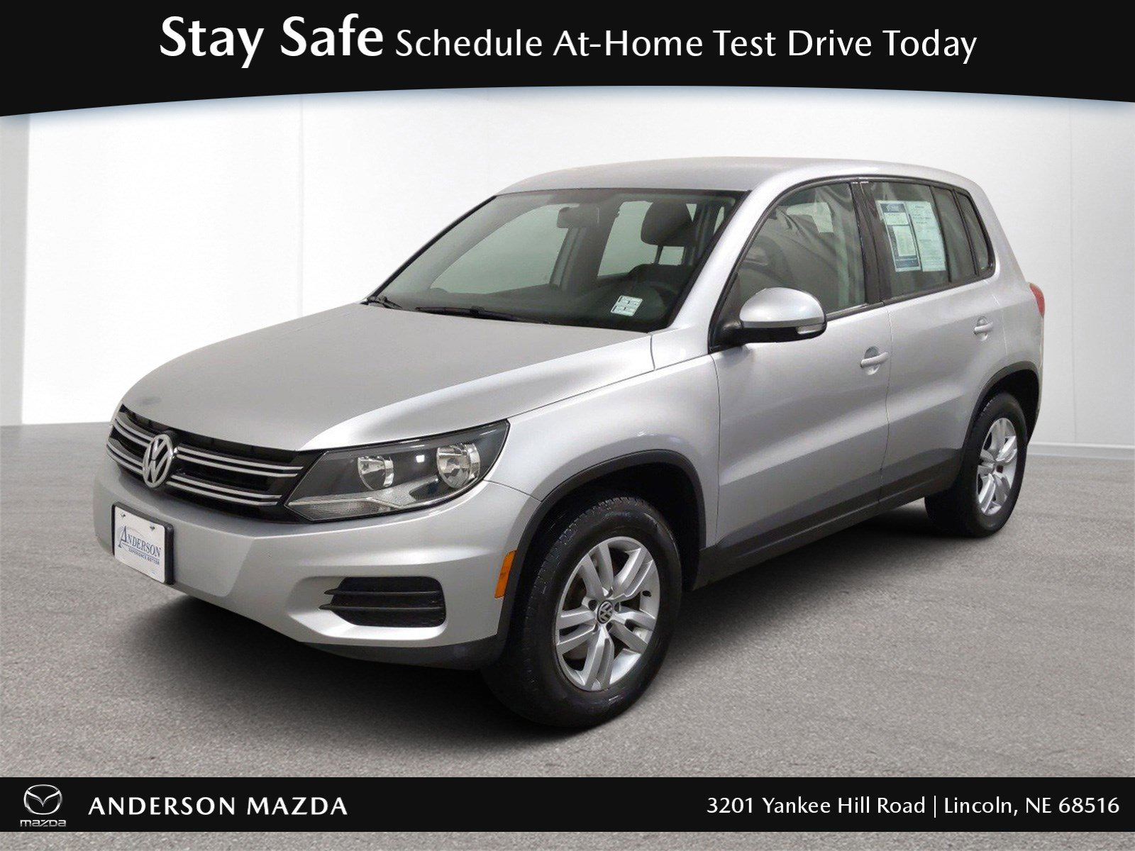 Used 2012 Volkswagen Tiguan S Sport Utility for sale in Lincoln NE