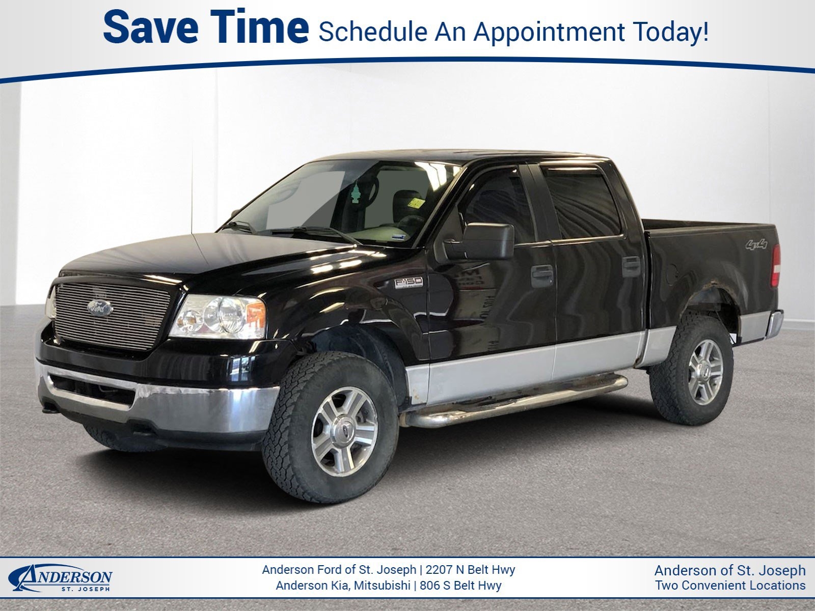 Used 2006 Ford F-150 XLT Crew Cab Pickup for sale in St Joseph MO