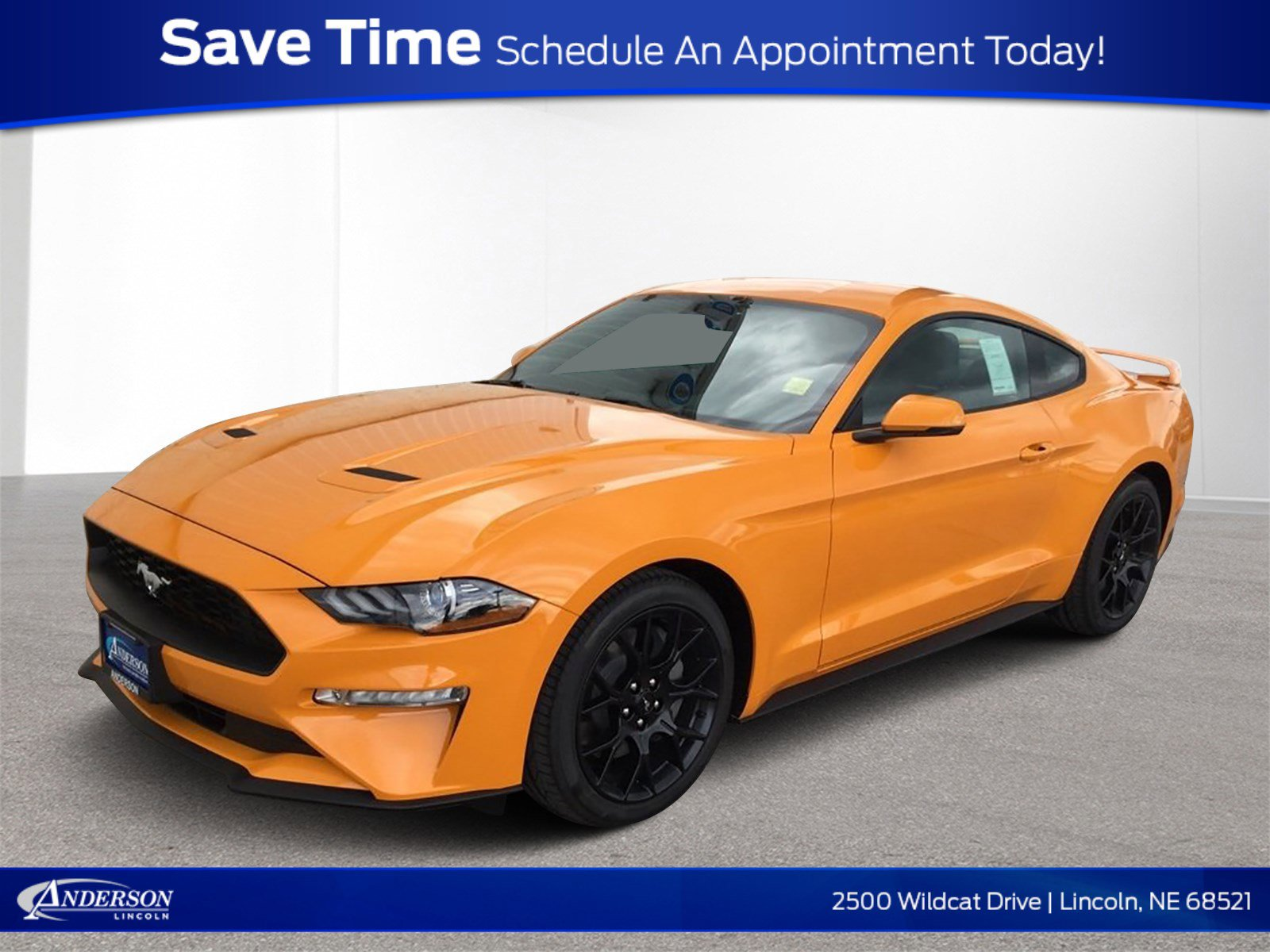 New 2019 Ford Mustang EcoBoost Premium 2dr Car for sale in Lincoln NE