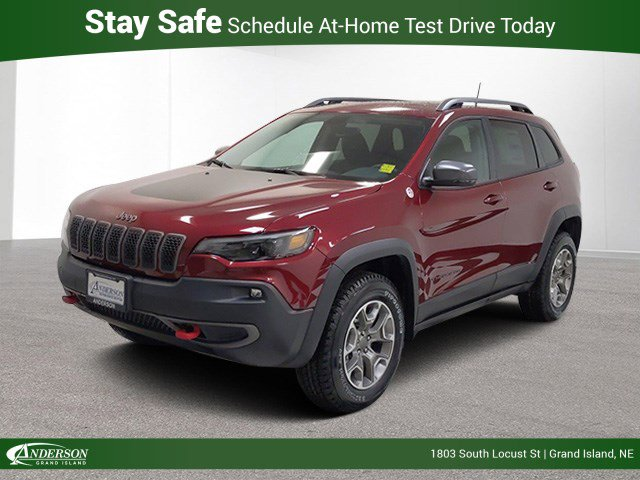 New 2020 Jeep Cherokee Trailhawk Sport Utility for sale in Grand Island NE