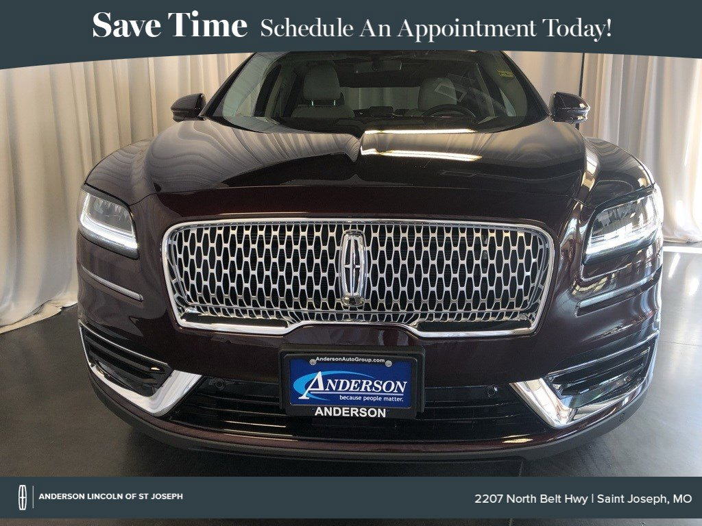 New 2019 Lincoln Nautilus Reserve Sport Utility for sale in St Joseph MO