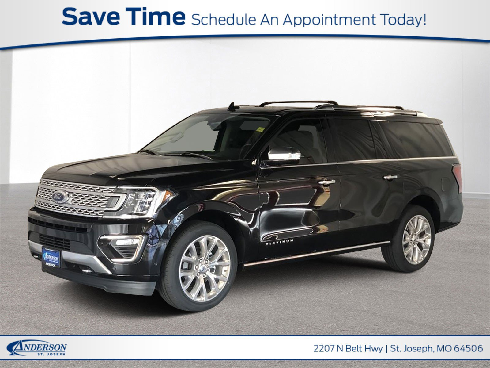 New 2019 Ford Expedition Max Platinum Sport Utility for sale in St Joseph MO