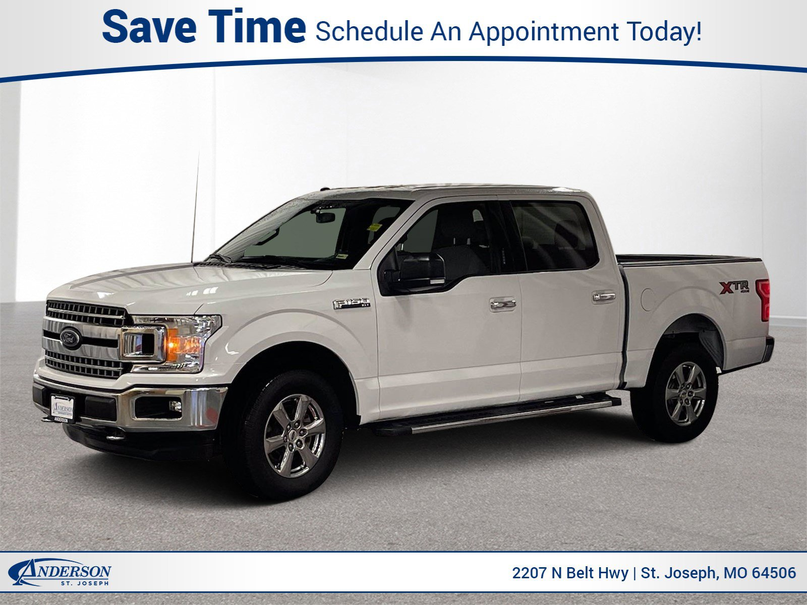 Used 2018 Ford F-150 XLT Crew Cab Pickup for sale in St Joseph MO