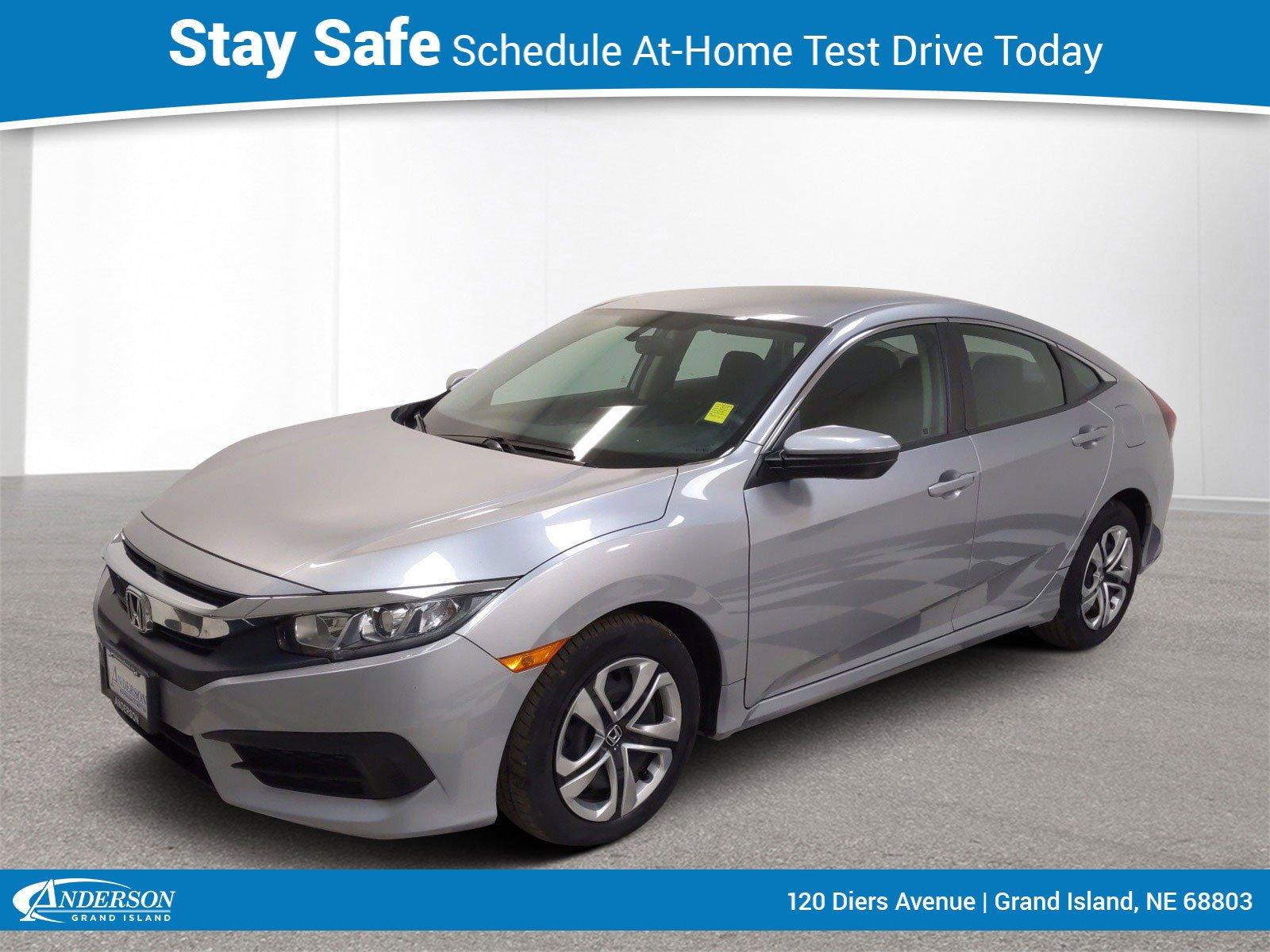 Used 2017 Honda Civic LX CVT Stock: GC2220