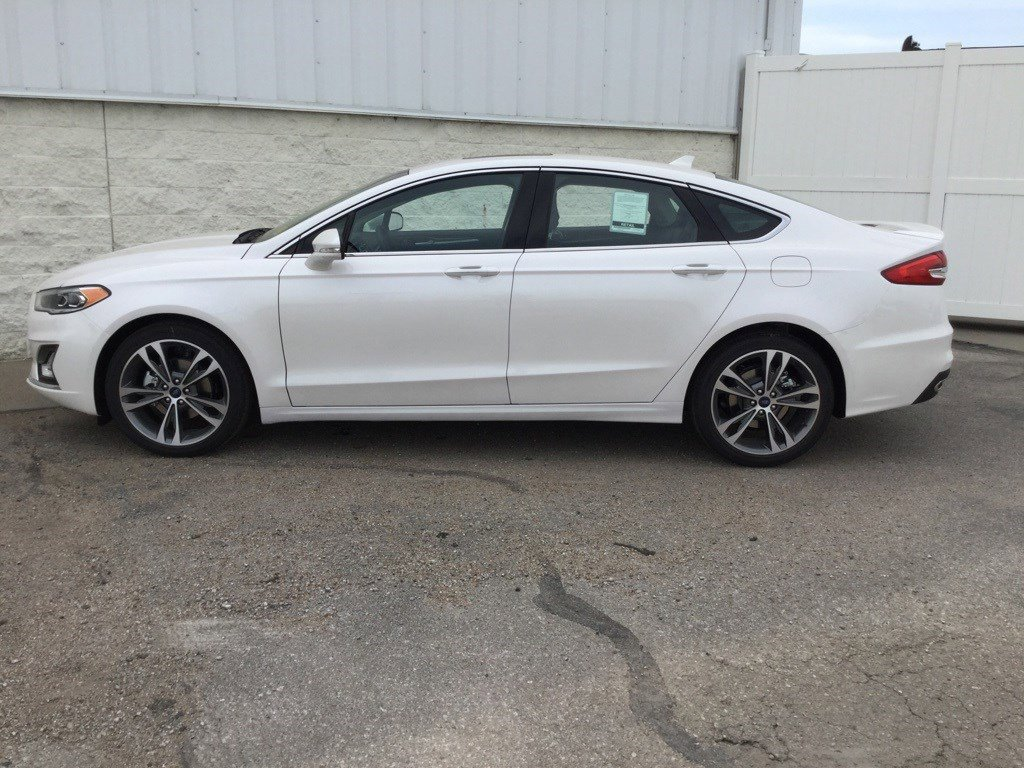 New 2020 Ford Fusion Titanium 4dr Car for sale in Lincoln NE